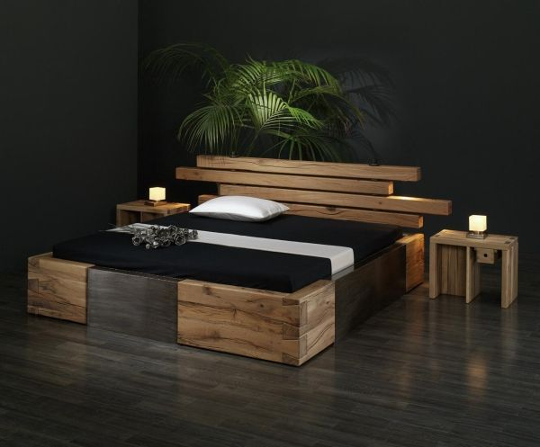 Bett Aus Balken Selber Bauen 25+ Best Ideas About Wooden Beds On Pinterest | Farmhouse