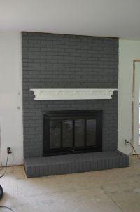 25+ best ideas about Grey fireplace on Pinterest   Focal ...