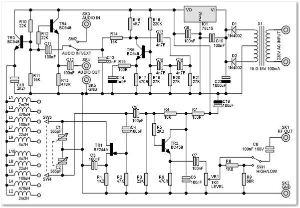 circuit diagram meter bridge