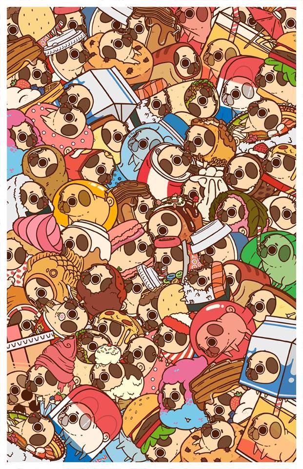 Cute Coffee Mug Wallpaper 89 Best Images About Puglie On Pinterest Pug Art