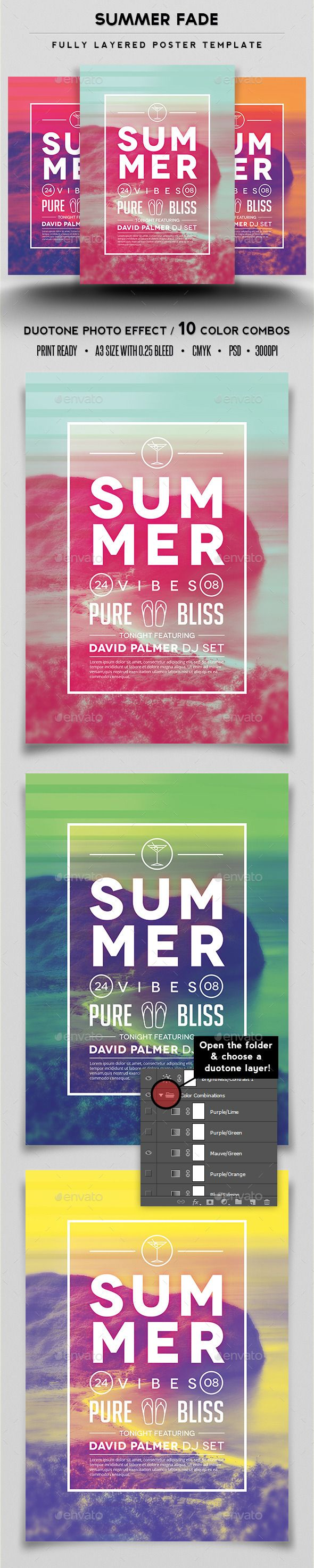Poster design questionnaire - Poster Design Questionnaire Summer Fade Poster Template Download
