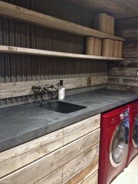 17 Best ideas about Rustic Industrial Kitchens on ...