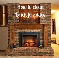 The 25+ best ideas about Cleaning Brick Fireplaces on ...