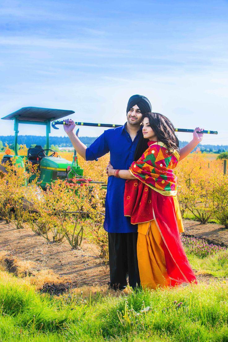 Cute Punjabi Married Couple Wallpaper Dsc 8937 Copy Jpg 4 016 215 6 016 Pixels Punjabi Couple