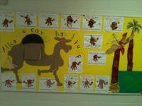 KIndergarten interactive Alice the Camel bulletin board ...