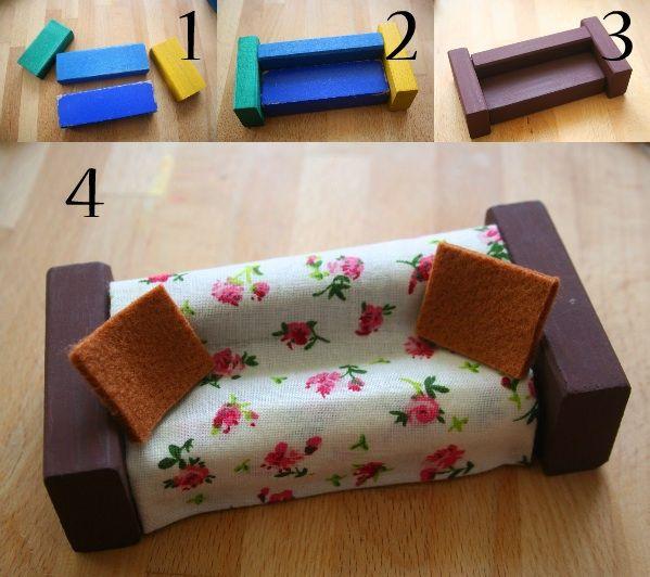 Diy Crear Muebles Para Muñecas Miniaturas Para Muñecas