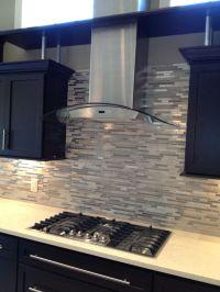 25+ best ideas about Stainless steel backsplash tiles on ...