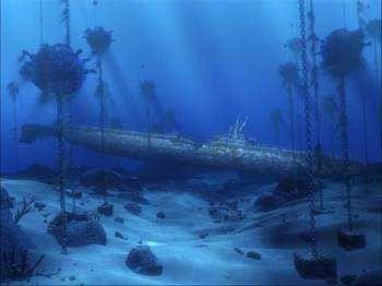 Mayank 3d Wallpaper Tetra Disney Aquarium Background Sunken Submarine