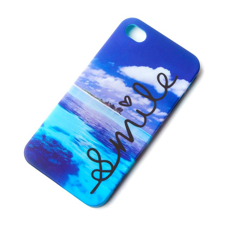Beach Smile Cover For Iphone 4 And 4s Claire S Phone
