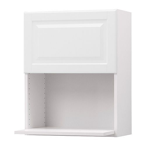 Akurum Wall Cabinet For Microwave Oven White Lidi White