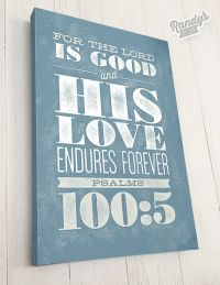 Bible Verse on Canvas, Typography, Scripture Wall Art ...