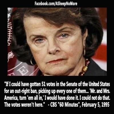 A Democrat & a seedy mind in Progress ` Dianne Feinstein Quote #GOP #breitbart | Politically ...