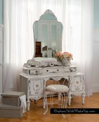 "Orphans With MakeUp - ANTIQUE VANITY - ""Chippy Goodness ..."