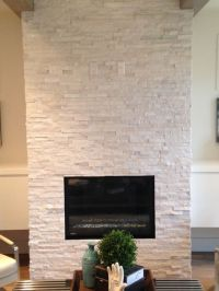 Quartz Ledgestone Fireplace. Supplied and Installed by ...