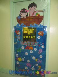 Classroom Door Decorations   Classroom Door Decor  Little ...