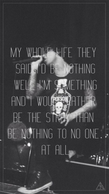 Life Quote Wallpaper M Lovethis The Strays Sleeping With Sirens Quotes Pinterest
