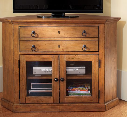 Media Schrank Corner Media Cabinet With Hutch - Woodworking Projects & Plans