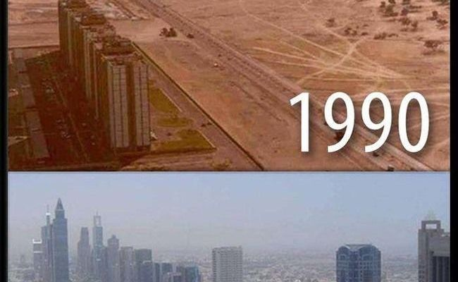 21 The Difference A Decade Makes In Dubai History Geek Pinterest Dubai And The O Jays