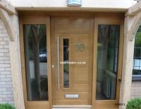 contemporary front door fhb clear sidelights | New house ...