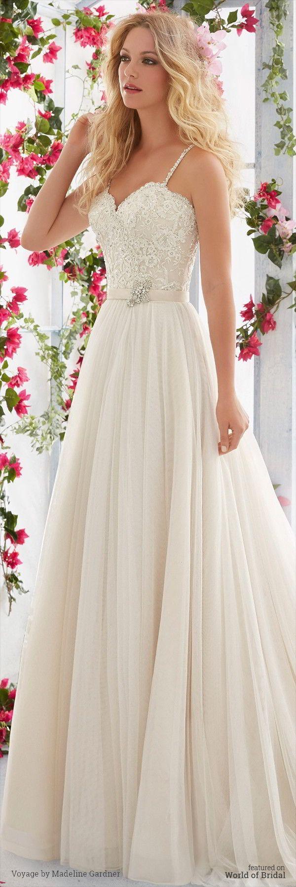 mori lee bridal wedding dress styles Voyage by Madeline Gardner Spring Wedding Dresses Mori Lee