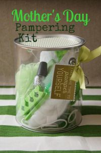 Mother's Day gift idea pampering kit, party, favors ...