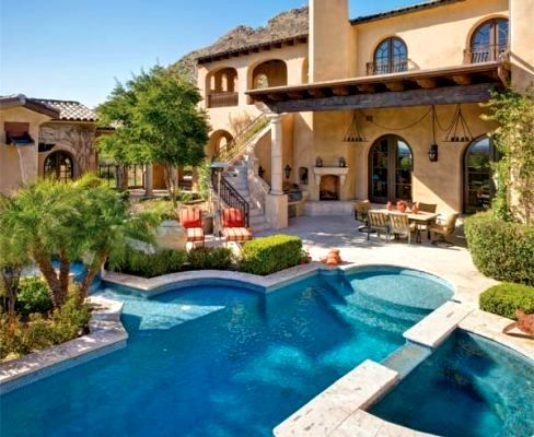 17 Best Images About Backyards On Pinterest | Luxury Pools