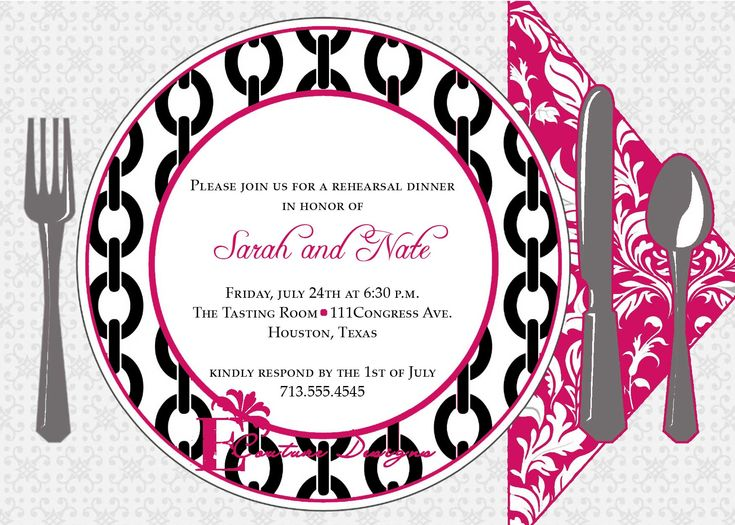 free dinner invitation templates for word - 28 images - 7 best - dinner invitation template