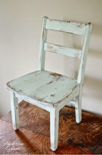 25+ best ideas about Distressed Chair on Pinterest ...