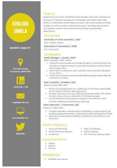 It Cv Example Information Technology Cv Curriculum Vitae Modern Microsoft Word Resume Template Khalida Jamila By