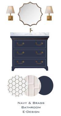 25+ best ideas about Blue vanity on Pinterest | Blue ...