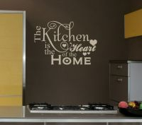 25x16 Kitchen Heart Home Decal Shabby Chic Decor Vinyl ...