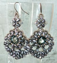 2262 best images about MUST DO BEADED EARRINGS on ...