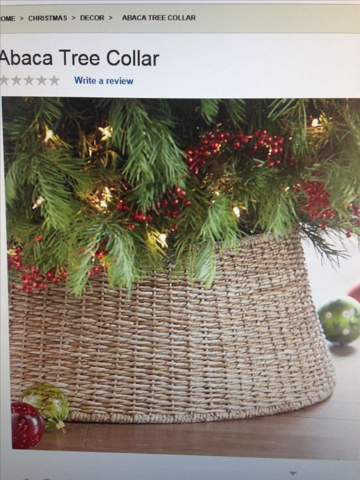 Outdoor String Lights For Trees Basket For Tree Collar? | Christmas | Pinterest | Trees
