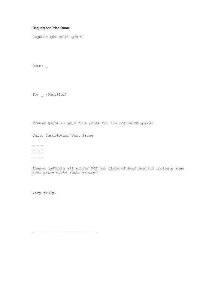 Resume Cover Letter Professional Sample Quotation Professional - business quotation sample