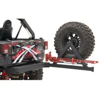 Off road rear bumpers with spare tire racks suzuki samurai ...