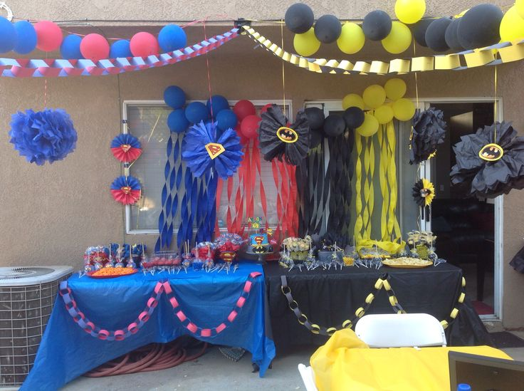 1000 Images About Batman Vs Superman Birthday Party On