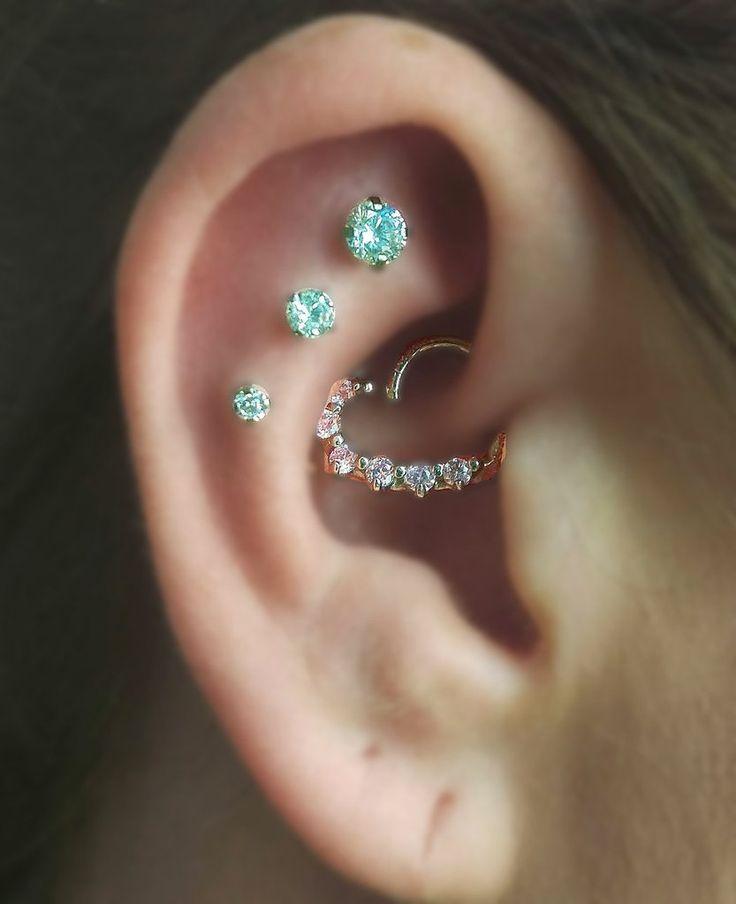 17 Best ideas about Multiple Ear Piercings on Pinterest