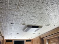 Glue-up ceiling tiles - look like tin. | House & Home ...