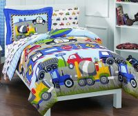 Cars, Trucks, Airplanes, Police Car Bedding for little ...