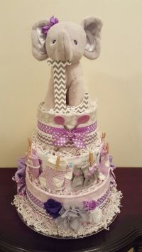 25+ Best Ideas about Elephant Diaper Cakes on Pinterest ...
