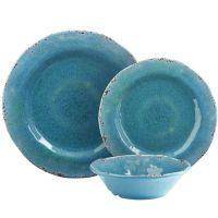 Carmelo Melamine Dinnerware - Aqua | Pier 1 Imports ...