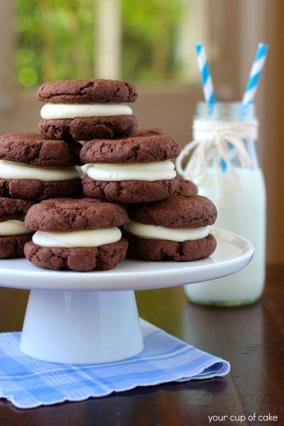 Homemade Oreos | Recipe | Homemade, Food cakes and Devil