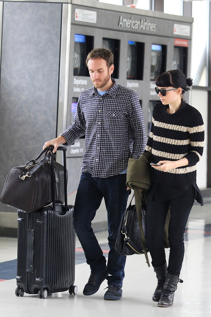Rimowa Beauty Case Salsa Actress Rooney Mara And Her Boyfriend Charles Mcdowell