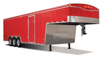 Haulmark's largest capacity cargo trailer, Grizzly 5th wheel/gooseneck is built professional ...