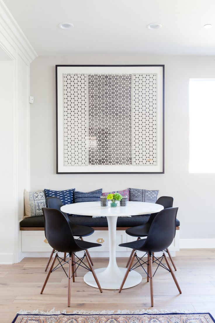 round dining tablessets kitchen dining tables Playa Vista Open Living Area Dining NookKitchen
