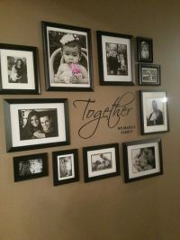 25+ Best Ideas about Black Picture Frames on Pinterest