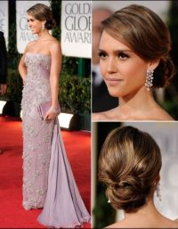 Jessica alba red carpet hair | Hair | Pinterest | Wedding ...