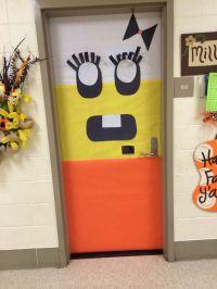 Miss candy corn   bulletin board and classroom doors ...