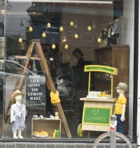 lemonade window display | Re: Creative Window Displays ...