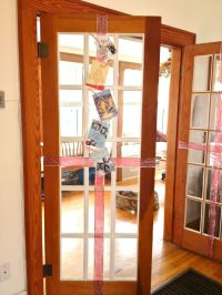 French door decoration | Christmas Ideas | Pinterest ...